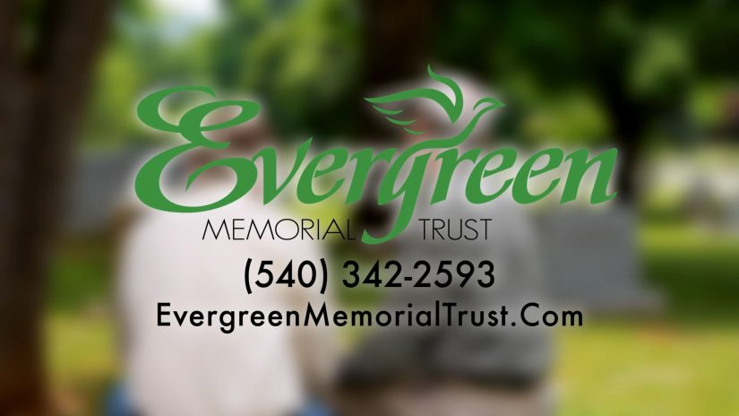 TV commercial graphic for evergreen
