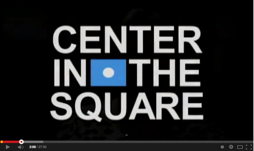 fundraising video center in the square logo