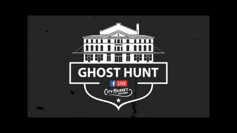 Live streaming City Market Building Ghost hunt